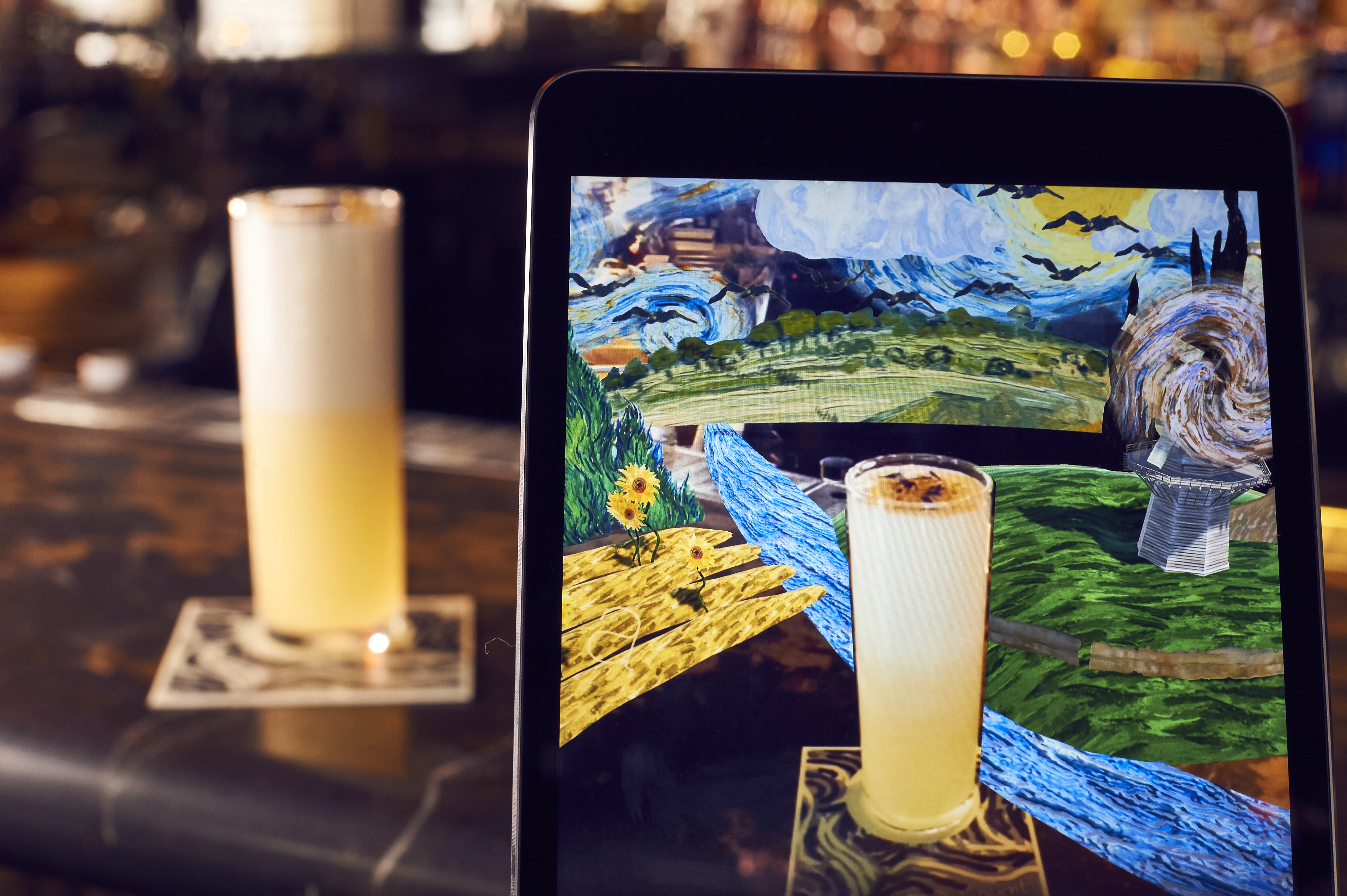 Michelin-starred restaurant to launch augmented reality cocktail menu