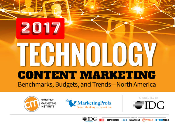 technology content marketing