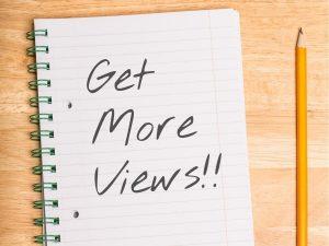 get more views